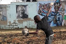 the world cup reminds us that all the world s a soccer field playing the game in soweto south africa