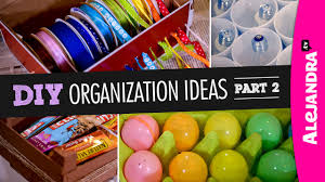 alejandra tv diy organization ideas