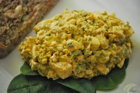 curried egg salad relishing it