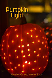 pumpkin lights pumpkin light