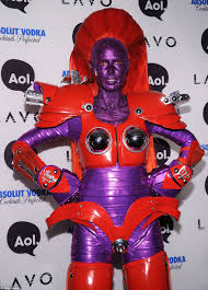 Look At Halloween Costumes Heidi Klum Arrives At Her Annual Halloween Party With Five