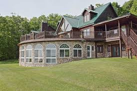 Residential Indoor Pool Timber Ridge Log Home Boyne City Vacation Rental With Indoor Pool