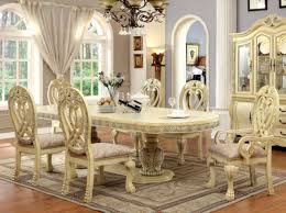 versailles dining room versailles dining room set id3186wh t 7pc formal table set 1