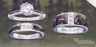 Camo Wedding Rings by Cherokee Wedding Rings Wedding Wallpaper