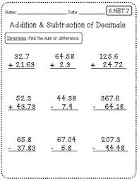 Math Worksheets For 5th Grade Best 25 5th Grade Worksheets Ideas On Grade 5 Math
