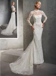 robe de mari e dentelle manche longue robe de mariée manches longues et dos ouvert collection 2017 de