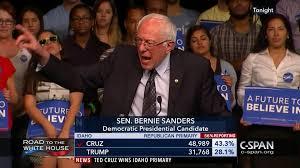 Bernie Sanders New House Pictures by Bernie Sanders Primary Night Speech Mar 8 2016 Video C Span Org