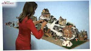 Christmas Village Sets Build A Christmas Winter Village With Pre Painted Ready To Use