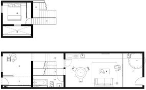 Row Home Plans by Narrow Row House Floor Plans