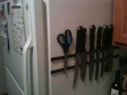 magnetic knife holder 3 steps