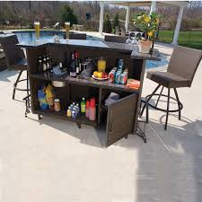 Patio Bar Table And Chairs Outside Bar Sets Outdoor Decorating Inspiration 2018