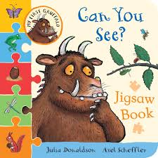 my first gruffalo can you count jigsaw book my first gruffalo