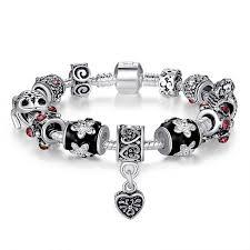 black beaded charm bracelet images Beaded bracelets beaded charm bracelets jpg