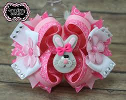 easter hair bows 165 best z easter bow images on hairbows hair