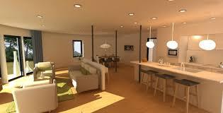 salon salle a manger cuisine idee deco salon salle a manger cuisine