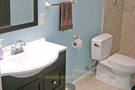 Plumbing For Basement Bathroom by How To Finish A Basement Bathroom The Complete Series