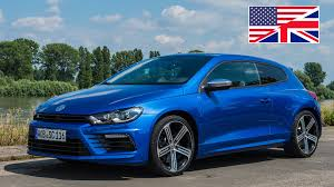 volkswagen scirocco r 2016 2014 volkswagen vw scirocco r facelift start up exhaust test