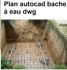 Pose En Coffrage Armatures Sur Plans Plan Autocad Bache à Eau Dwg Outils Livres Exercices Et Vidéos