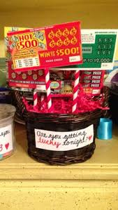alternative valentines gifts made my husband a lottery basket for valentine s day 2015 great gift