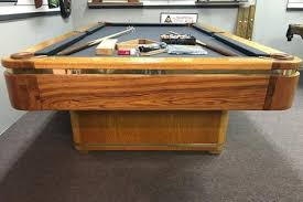 ebonite pool table 3 piece slate pre owned pool tables