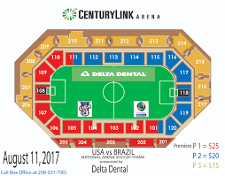 Mls Teams Map Usa Vs Brazil National Arena Soccer Teams Centurylink Arena