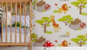 tapisserie chambre d enfant papierpeint9 papier peint pour chambre de bébé
