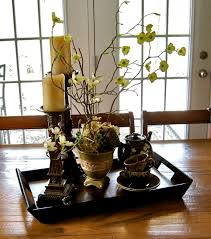 dining room table arrangements wonderful square and dining room table decor to choose