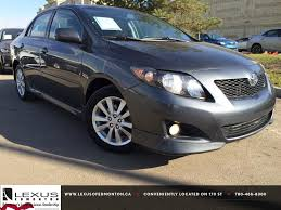 ken shaw lexus toyota used cars pre owned grey 2010 toyota corolla auto s review innisfail