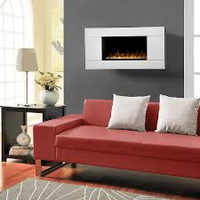 Wall Electric Fireplace Dimplex Reflections 40 Inch Wall Mount Electric Fireplace With