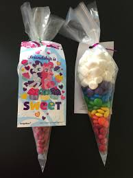party city halloween treat bags my little pony rainbow dash favor m u0026m u0027s and marshmallows