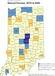 Map Indiana Population Projection Maps Stats Indiana