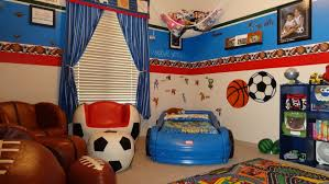 kids sport themed bedroom decorating ideas cubical black ottoman
