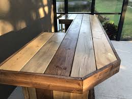 Plank Desk The Plank Top Maggie 8 U0027 Rustic Finished Barnwood Or Pallet Style