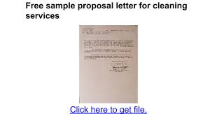 Carpet Cleaning Invoice Sle by Free Sle Letter For Cleaning Services Docs