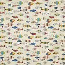 Hawaiian Curtain Fabric Fabric
