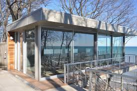 lake michigan beach house contemporary exterior chicago by
