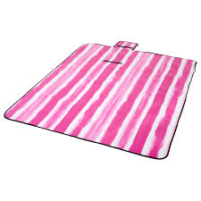 Pink Stripe Rug New Large 59x51