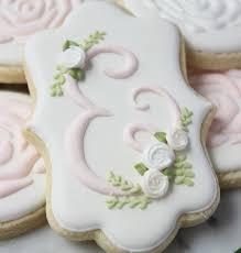 wedding cookies best 25 monogram cookies ideas on wedding cookies