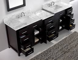Cheap Vanity Cabinets For Bathrooms by Virtu Usa Md 2193 Wmsq Es 93 Inch Caroline Parkway Double Square