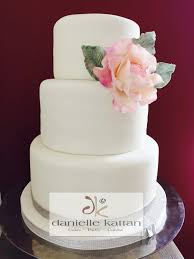 flower fondant cakes danielle kattan wedding cakes