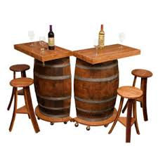 Folding Bar Cabinet Whole Wine Barrel Cabinet Napa East