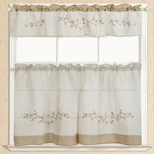 Linen Valance Martha Stewart Collection Kitchen Curtains