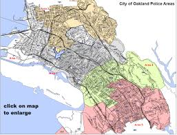 Ccw Map Police Department City Of Oakland California