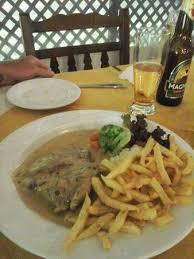 suce dans la cuisine steak with pepper suce picture of the garden of restaurant