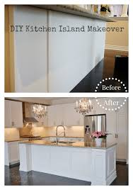easy kitchen island plans diy kitchen island makeover glam living
