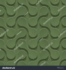 3d seamless pattern kale color neutral stock vector 530576761