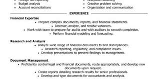 Accountant Job Description For Resume by Accounting Job Resume Objective Example Of Resume Objective
