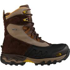 men s the north face flow chute winter boots mount mercy university