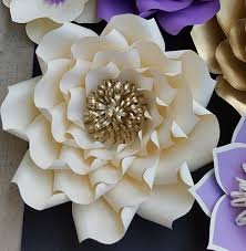 paper flower template paper flower pattern diy paper flower