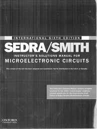 207588982 microelectronic circuits sedra smith 6th edition